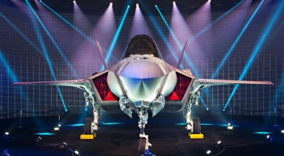 "Watch: Israel Takes Delivery of First Pair of F-35I 'Adir"" Aircraft"