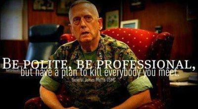 Polite, professional and prepared