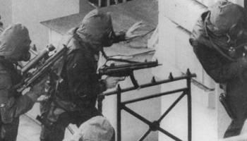 British SAS finish the Iranian Embassy siege