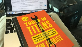 Why I won't give my copy of Tim Ferris's new book, 'Tools of Titans' to people I care about