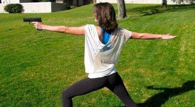 The benefits of yoga and shooting