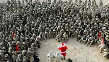 Christmas: A holiday for warriors throughout history