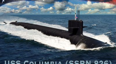 The U.S. Navy's Next Missile Sub Is Called USS Columbia