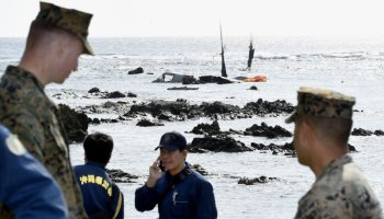 US Marine Corps MV-22 Osprey Goes Down off Coast of Japan