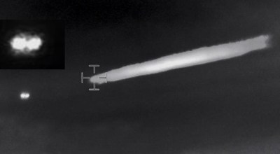 Chilean Government releases footage of UFO captured by Navy Helicopter