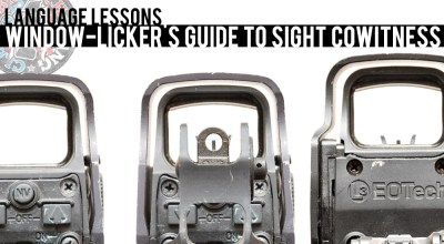 Language Lessons: Window-Licker's Guide to Sight Cowitness