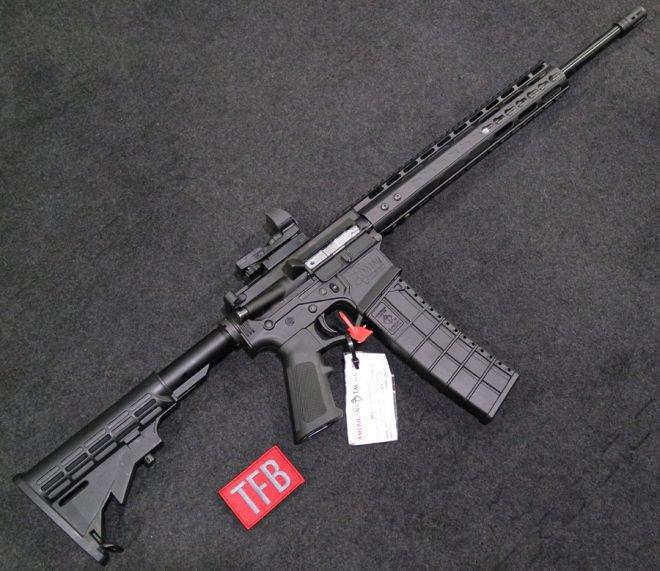 American Tactical  410 AR Shotgun: Milspec Lower with a