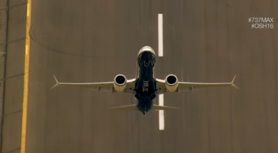 Watch: Boeing's 737 MAX demonstrates amazing power and maneuverability!