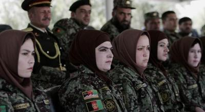 Afghan National Army Looking To Recruit More Women