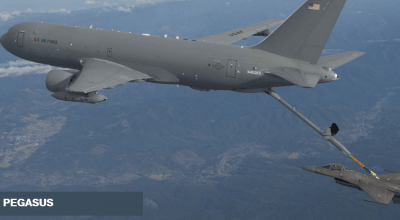 Watch: Boeing shows off KC-46A 3D air to air refueling capability