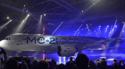Russian aircraft manufacturer Irkut says MC-21-300 will fly in 2017