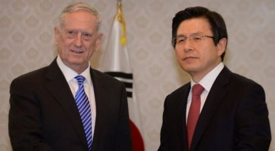 SECDEF Mattis meets with South Korean leaders to strengthen alliance