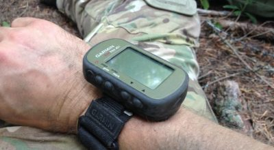 The Garmin Foretrex 401 GPS