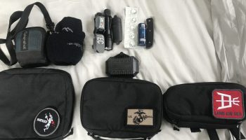 GORUCK padded field pouches