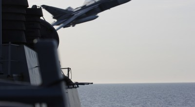Russian Jets Buzz US Navy Destroyer in the Black Sea
