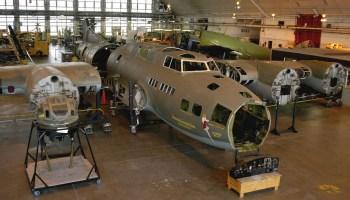 Watch: Historic bomber 'Memphis Belle' undergoes rework and restoration