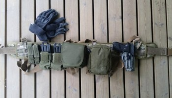 HSGI Sure-Grip® Padded Belt   Sticks Like Tar