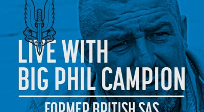 Watch: Live with Big Phil Campion, former British SAS- Mar 07, 2017