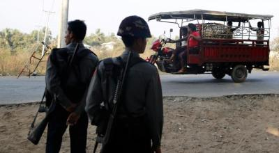 Karate and wooden guns: How new insurgent group stoked Myanmar crisis