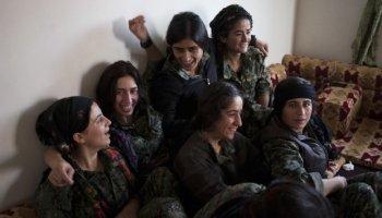 Female Kurdish Snipers cut ISIS down
