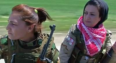 'We are not meant to sit at home' — Meet the female Peshmerga fighters battling ISIS