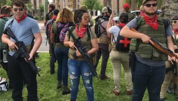 Armed brown shirted socialists hit Phoenix, Arizona