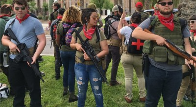 Armed brown shirted socialists hit Phoenix, Arizona