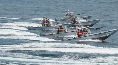 Iranian ships harass US Navy surveillance vessel twice in one week