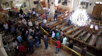 Two Coptic Churches bombed by ISIS on Palm Sunday in Egypt, 36 dead