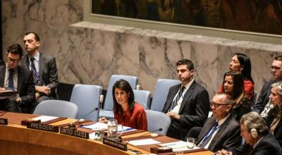 Western push at U.N. to boost backing for Syria gas attack inquiry