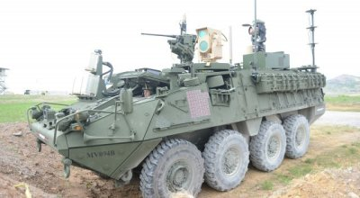 US Army tests drone killing laser mounted on a Stryker Combat Vehicle!