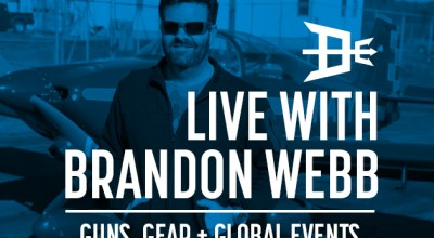 Watch: Live with Brandon Webb- Guns, gear, and global events Apr 23, 2017