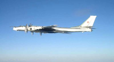 Russian Nuclear Capable Tu-95H Bombers Spotted Within 36 Miles of Alaska