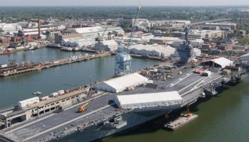 Watch: USS Gerald Ford (CVN-78) leaves port and begins sea trials!