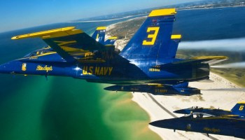 Watch: US Navy Blue Angels Celebrate Their 71st Birthday! Air Force Thunderbirds Crash the Party