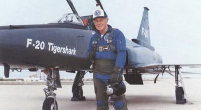Flash from the Past: Anyone Remember the F-20 Tigershark? Chuck Yeager Does!