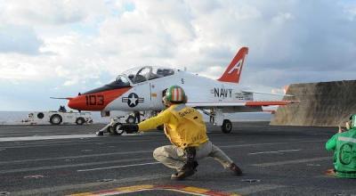 US Navy temporarily grounds the T-45C Goshawk training jet