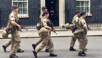 UK activates thousands of troops for security in wake of bombing, suspect had confirmed ties to ISIS
