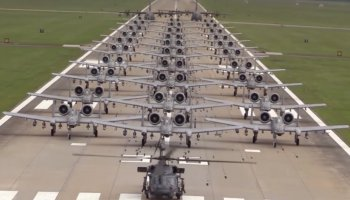 The Air Force put on a show of force with the A-10, and a day later it got taken off the chopping block