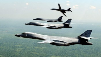 B-1 Lancer Bombers Show of Force Over Korea...Again