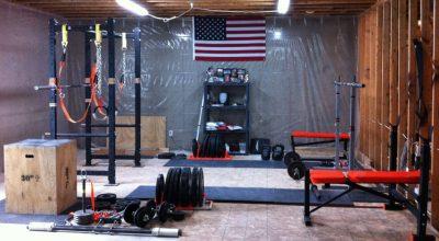 DIY home gym