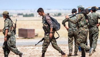 Islamic State Fighters Fleeing Raqqa as the Battle Nears the End