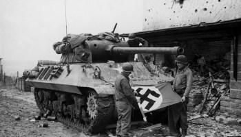 Battle of Lampaden Ridge, Germany, March 1945