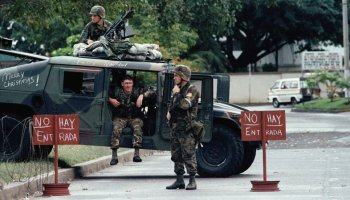 Noriega Surrendered to Rock in Panama Invasion 1989
