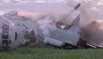 Russian Plane Crash Leaves 1 Dead 4 Injured