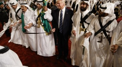 As Trump prepared for Riyadh visit, Saudis blocked U.S. on terrorist sanctions