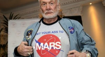2nd man on the Moon Buzz Aldrin says 'Get to Mars Now!'