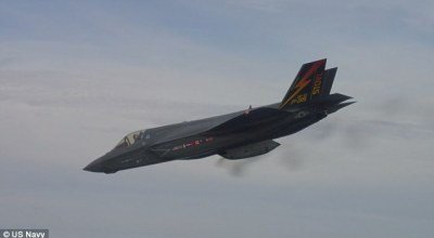 Watch: Airborne flight testing of the F-35B gun completed!