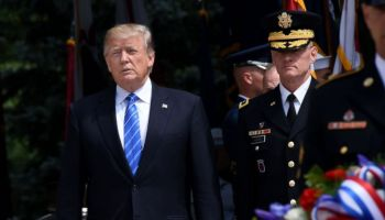 President Trump honors the fallen at Arlington National Cemetery