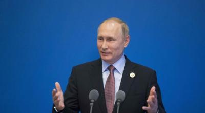 Putin on North Korea's missile test: 'No threat to us.' Jabs at U.S. foreign policy